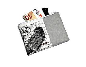 Peňaženky - taštička do kabelky 15,5x11cm - 11160264_