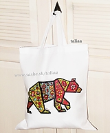 Nákupné tašky - Eko taška ♥ MEDVEĎ - 11158963_
