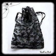Úžitkový textil - Vrecko na halloween drobnosti - 11156594_