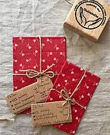 Úžitkový textil - Voskovaný obrúsok Tulipán - EkObal - 11160803_