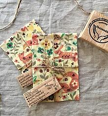 Úžitkový textil - Voskovaný obrúsok EkObal- Líščia lúka - 11160789_