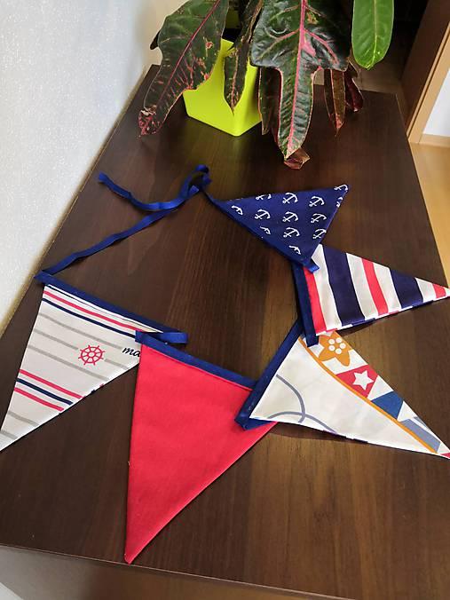 Vlajková girlanda do detskej izby - kolekcia Námorník