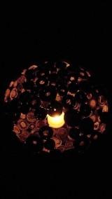 Nádoby - Váza, svietnik, zaujímavá obojstranná dekorácia... - zrecyklované časopisy - 11157502_