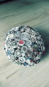Nádoby - Váza, svietnik, zaujímavá obojstranná dekorácia... - zrecyklované časopisy - 11157504_