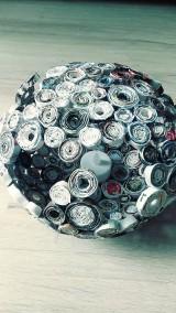 Nádoby - Váza, svietnik, zaujímavá obojstranná dekorácia... - zrecyklované časopisy - 11157505_
