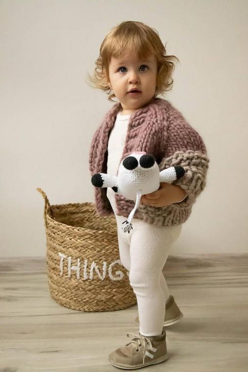 Detské oblečenie - Svetrík Chunky Jacket - 11159065_