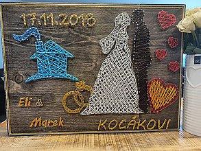 Obrazy - Výročie svadby - 11159888_