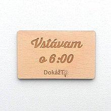 Drobnosti - Motivačná kartička personalizovaná 01 - 11158985_