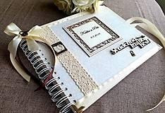 Nezaradené - Svadobná kniha hostí - 11159852_