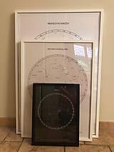 Grafika - Hviezdna mapa BÉŽOVÁ - na mieru - 11159403_