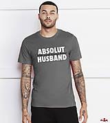 Tričko pre najlepšieho manžela