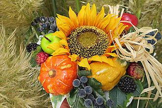 Dekorácie - jesenna dekoracia - 11157264_