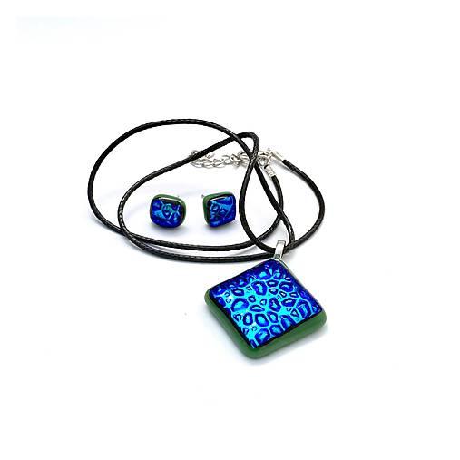Raindrops - sada sklenených šperkov
