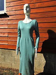 Šaty - Mohérové šaty  voľné - 11159803_