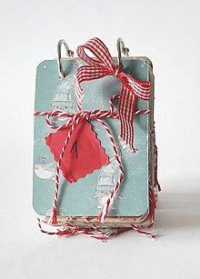 Papiernictvo - Adventný kalendár pre romantikov - 11158121_