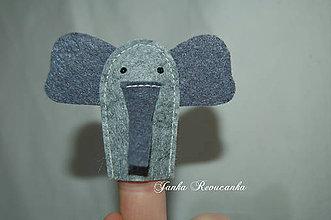 Hračky - slon - 11156719_