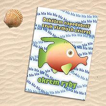 Papiernictvo - Školský zošit s rybou pre hlučných - 11159845_