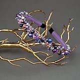 Ozdoby do vlasov - Violet Dreams ... čelenka - 11161406_