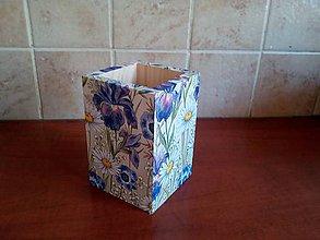Pomôcky - kvety stojan - 11161315_