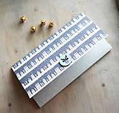 Papiernictvo - Vianočná obálka na peniaze - 11163652_