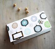 Papiernictvo - Vianočná obálka na peniaze - 11163670_