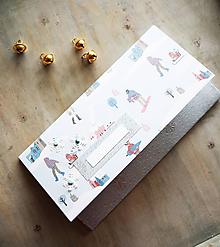 Papiernictvo - Vianočná obálka na peniaze - 11163629_