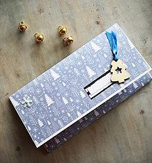 Papiernictvo - Vianočná obálka na peniaze - 11163639_