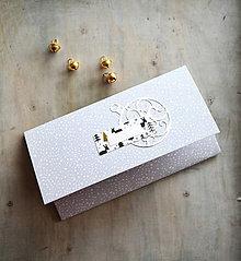 Papiernictvo - Vianočná obálka na peniaze - 11163648_