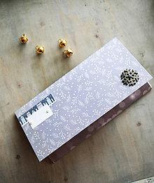 Papiernictvo - Vianočná obálka na peniaze - 11163663_