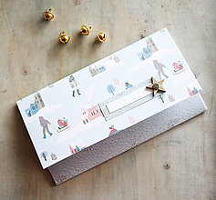 Papiernictvo - Vianočná obálka na peniaze - 11163678_