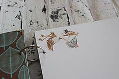 Papiernictvo - Fotoalbum pre chlapca (krstiny, narodeniny) - 11164330_