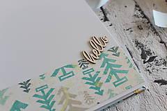 Papiernictvo - Fotoalbum pre chlapca (krstiny, narodeniny) - 11164331_