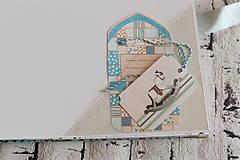 Papiernictvo - Fotoalbum pre chlapca (krstiny, narodeniny) - 11164332_