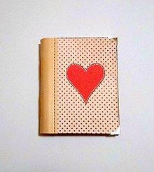 Papiernictvo - Diár Ručne šitý folk * zápisník * sketchbook A5 s koženým chrbtom - 11163927_