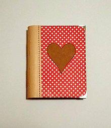 Papiernictvo - Diár Ručne šitý folk * zápisník * sketchbook A5 s koženým chrbtom - 11163970_