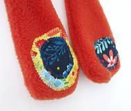 Hračky - Textilné zvieratko - Líštička kvetinárka - 11164339_
