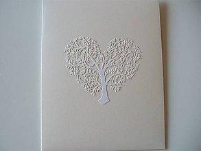 Papiernictvo - veľká perleťová obálka na fotky / strom života - 11162038_