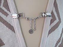 Drobnosti - Šperkové dekoračné klipy na svetre, saká, žakety, vesty... - 11162110_