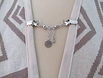 Drobnosti - Šperkové dekoračné klipy na svetre, saká, žakety, vesty... - 11162115_
