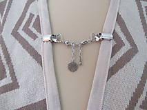 Drobnosti - Šperkové dekoračné klipy na svetre, saká, žakety, vesty... - 11162119_