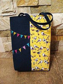 """Veľké tašky - Taška """" BIRDS"""" - 11163699_"""