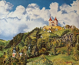 Obrazy - Banská Štiavnica - kalvária - 11162016_