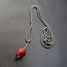 Náhrdelníky - Recy náhrdelník šípek - 11164365_