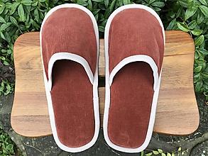Obuv - Menčestrové papuče - 11163559_
