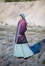 Kabáty - kabátik Violet spirit - 11164153_