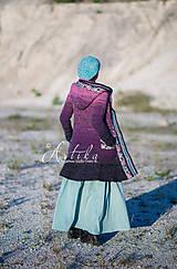 Kabáty - kabátik Violet spirit - 11164155_