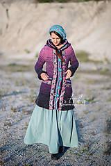 Kabáty - kabátik Violet spirit - 11164157_