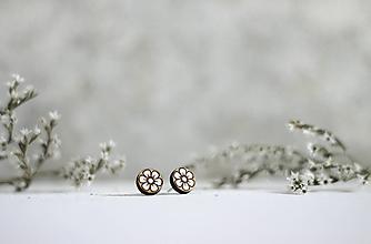 Náušnice - Kvetinky - 11162410_