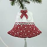 Úžitkový textil - SALOMA - strieborno vínová hviezdna kombinácia - vianočné srdiečko 13x13 - 11164396_