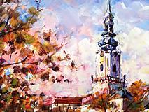 Obrazy - Jesenná Nitra - 11162418_